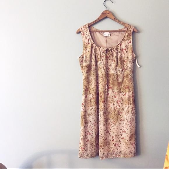 Fashion Bug Dresses & Skirts - Fashion Bug Hippie Floral Dress Gathered Bust